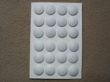 WWII WW2 German tunic buttons - set - white