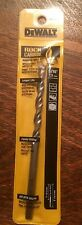 "DeWalt 5/16"" Rock Carbide Hammer Drill Bit 6"" Long DW5228 De Walt Tools Drillbit"
