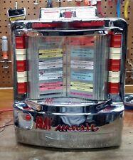 AMI WALLBOX JUKEBOX MODEL WQ-200-3 RESTORED and RECHROMED - STOCK #5555