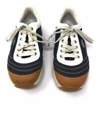 MBT Womens Size 8.5 Tataga Toning Walking Shoes 400137-51 Eur 39 Leather Denim