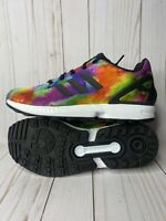 Adidas ZX Flux Torsion  Size 7Y or Womens 8.5 Multicolor Rainbow Sneakers S74958