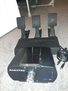 Fanatec CSL Elite And Loadcell Pedal