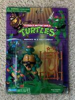 TMNT 1998 Teenage Mutant Ninja Turtles Mike Michaelangelo Figure Toy MOC Nice!