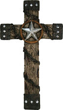 Rivers Edge Products 18-Inch Cross with Star And Barbed Wire #3