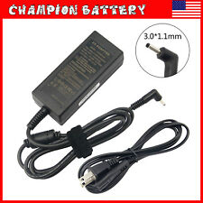 For Acer Chromebook CB3-111 CB3-131 CB5-132T Ac Adapter Charger + Power Cord
