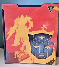 """2007 Mead School 1"""" 3 Ring Binder Transformers Optimus Prime"""