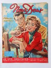 ►NOUS DEUX n°408/ 1955 : RENOUVEAU