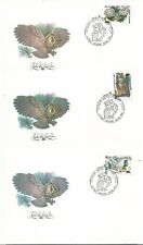 Russia. USSR. 1990. FDC covers .Owls. SC 5871-73