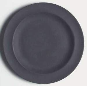 Wedgwood Basalt Black Salad Plate 6281269