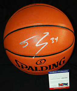 Shaquille ONeal signed basketball, Lakers,Miam Heat, LSU Tigers, PSA/DNA AB62494