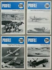 Profile  Aircraft Series -  27 pieces