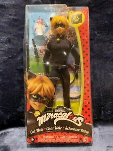 "Chat Noir Black Cat Boy Male Zag Miraculous Heroez Heroes 11"" Fashion Doll New"