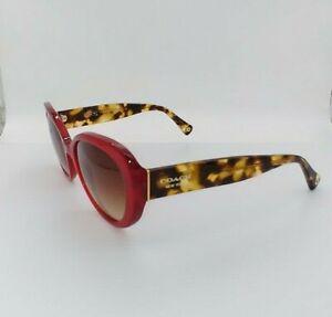 Coach HC 8049 (L043Alexa) 5029/13 Dark Tortoise Burgundy Glasses