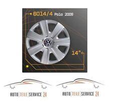 4x italienische Radkappen Radkappensatz 14 Zoll Felgen VW Polo 2009 Grau