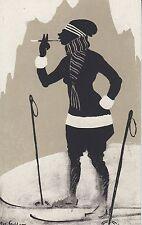 Künstler Postkarte - Joseph Goller / Schneehuhn