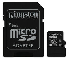 32GB Kingston micro SD HC Memory Card For Sony HDR-CX240 Camcorder