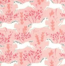 Michael Miller Magic FLANNEL by Sarah Jane FD7191 Blossom Unicorn Forest Cotton