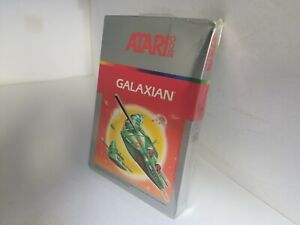 NEW FACTORY SEALED W/CRUSHED BOX GALAXIAN  GAME FOR ATARI 2600 NTSC K52