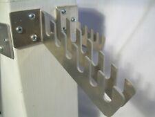 Wall bracket for T Handle Wrench Socket Tool Set. Aluminum Rack.