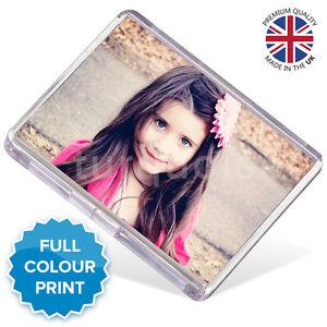 Personalised Custom Photo Gift Fridge Magnet 73 x 51 mm | Jumbo Size