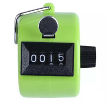 Mini Color Digital Hand Held Tally Clicker Counter 4 Number Pedometer Green