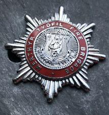 More details for merthyr tydfil fire brigade cap badge