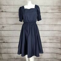 Gal Meets Glam Collection 2 Anastasia Double Square Neck Fit & Flare Dress NWT