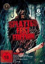 6er Halloween Filme SPLATTER FEST EDITION Reanimator BLOOD RIVER Hack! DVD Box