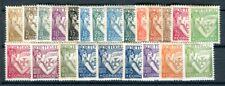 PORTUGAL 1931 531-552, 601 * FREIMARKEN SATZ (09381