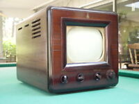 """Vintage 1940's Emerson 571 10"""" Table Top TV w/ Channel 1 Tuner, #2"""