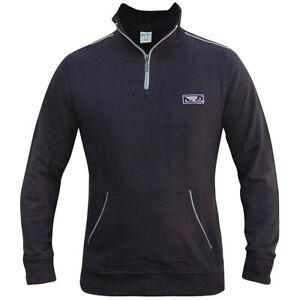 Bad Boy Quarter Zip Pullover - Small - Navy