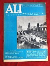 ALI NUOVE 1957 N.21 AVIAZIONE AERONAUTICA GIANNI CAPRONI SATELLITE SPUTNIK 2