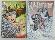1997 Wartblade #1A,1B Tipping Cows Productions Witchblade Parody: MT 10 MINT