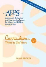 AEPS Curriculum for Three to Six Years - 3 to 6 Yrs - Volume 4 - Diane Bricker