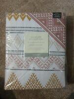 Matalan King Size Reversible Aztec Design Printed Duvet Cover BN