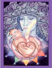 Motherhood Birth Midwifery Banner Wall Hanging Tapestry by Francene Hart #NB