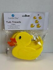 Comfort Bay Duck Tub Treads 5 Pieces For Tub or Shower Removable and Reusable Ye