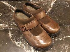 Dansko Kaya Women Brown Mule Shoes Size US 9M EUR 40 Slip On Comfort