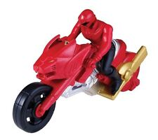 POWER RANGERS SUPER megaforza - PERDUTE GALAXY Cycle & Rosso Ranger NUOVO