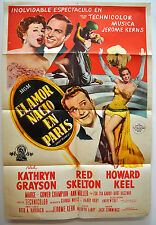 Lovely to Look At  Kathryn Grayson, Red Skelton, Howard Keel Mov.Poster mex254O