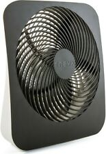 Treva 10 Inch Battery Powered Portable Fin Fan With AC Adapter Included