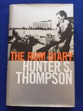 THE RUM DIARY - FIRST BRITISH EDITION BY HUNTER S. THOMPSON