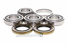 """2pack Trailer Hub Wheel Bearings L44649/L44610  1-1/16"""" Axle Spindle 2,000 lbs"""