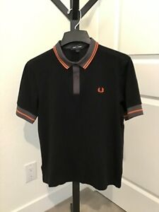fred perry polo black products for sale | eBay