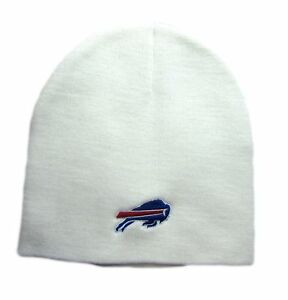 NFL Team Logo Cap Winter Knit Beanie Hats 100% Acrylic Adult Sizes
