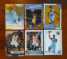 Emmanuel Mudiay - 6x different card LOT w/ ROOKIES RCs- Panini - Denver Nuggets