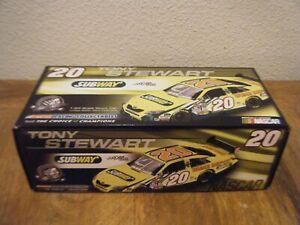 NASCAR 1/24 Tony Stewart #20 Subway 2008 Toyota Camry COT RARE