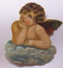 """""""Oblaten, Engel""""  1900,    7,5 cm x 6 cm  ♥ (46004)"""