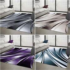 design moderne Tapis abstrait à poils ras salon différentes couleurs taille