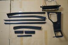 BMW E39 ///M5 OEM Technical Graphite Cubic Interior Trim Full Set RARE